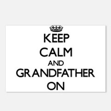 Unique Grandfather to be Postcards (Package of 8)