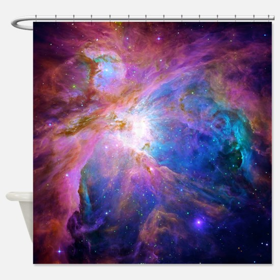 Cute Nebula Shower Curtain