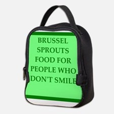 brussle sprouts Neoprene Lunch Bag