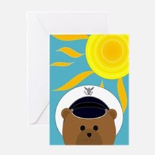 Air Force Cadet Summer Miss You Greeting Cards