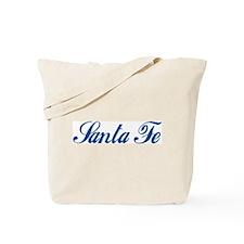 Santa Fe (cursive) Tote Bag