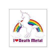 """Death Square Sticker 3"""" x 3"""""""