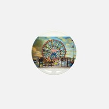 Wonder Wheel Park Mini Button