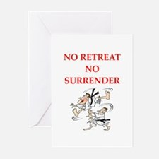 martial arts gifts Greeting Cards