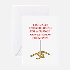 horseshoes gifts Greeting Cards