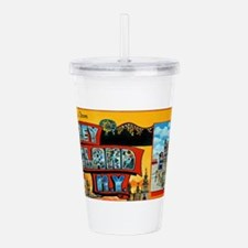 Greetings From Coney I Acrylic Double-wall Tumbler