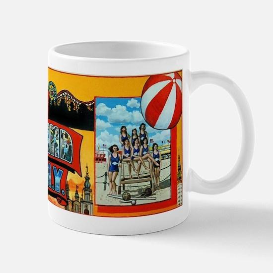 Greetings From Coney Island, N.Y. Mugs