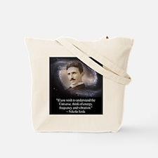 Tesla Universe Tote Bag