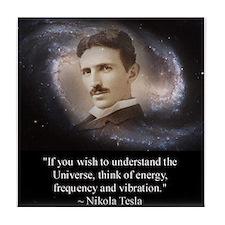 Tesla Universe Tile Coaster