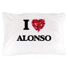 I Love Alonso Pillow Case