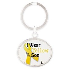 Cute Walktosavelives.org Oval Keychain