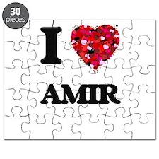 I Love Amir Puzzle