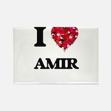I Love Amir Magnets