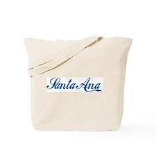 Santa Ana (cursive) Tote Bag