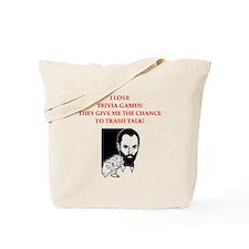 trivia joke Tote Bag