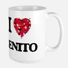 I Love Benito Mugs