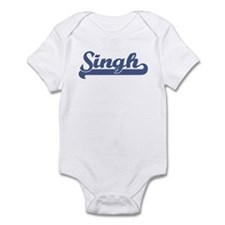 Singh (sport-blue) Infant Bodysuit