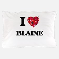 I Love Blaine Pillow Case