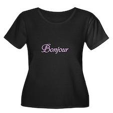 Bonjour Plus Size T-Shirt