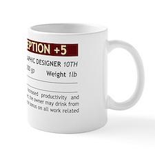 of perception Small Mug