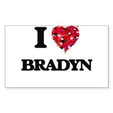 I Love Bradyn Decal