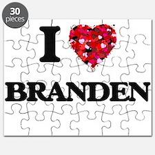 I Love Branden Puzzle