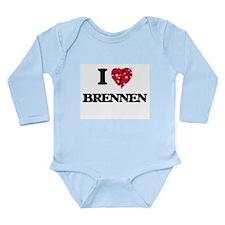 I Love Brennen Body Suit
