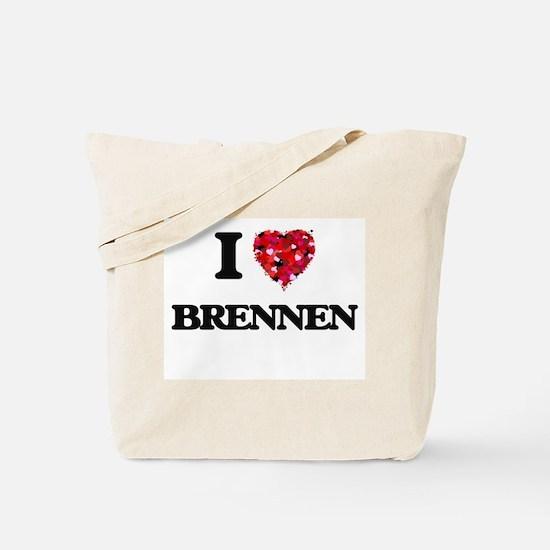 I Love Brennen Tote Bag