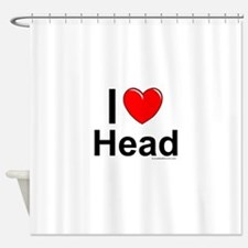 Head Shower Curtain