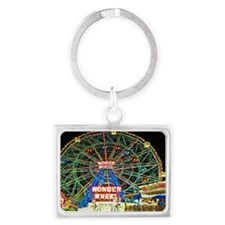 Cute Ferris wheel Landscape Keychain