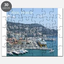 Nice harbor, South of France Puzzle