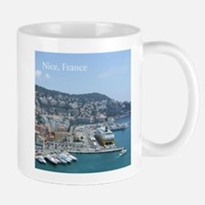 Nice harbor, South of France Mugs