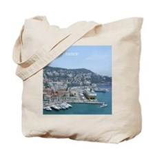 Nice harbor, South of France Tote Bag