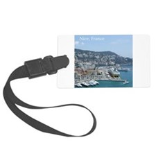 Nice harbor, South of France Luggage Tag