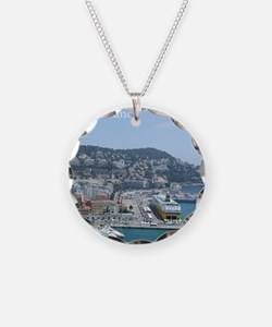 Nice harbor, South of France Necklace