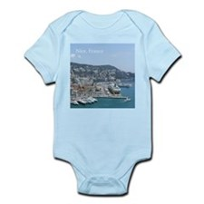 Nice harbor, South of France Body Suit