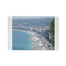 Nice Beach, South of France Magnets