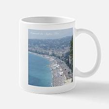 Nice Beach, South of France Mugs