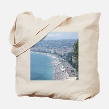 Nice Beach, South of France Tote Bag