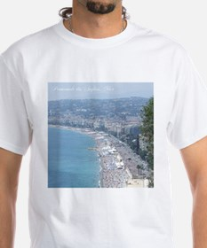 Nice Beach, South of France T-Shirt
