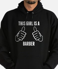 This Girl Is A Barber Hoody