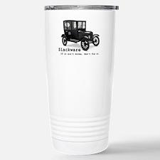 Slackware - If It Aint  Stainless Steel Travel Mug