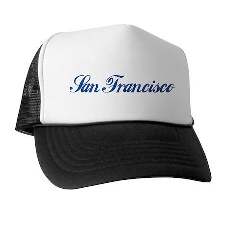 San Francisco (cursive) Trucker Hat