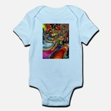 Abalone Shell Abstract Art Body Suit
