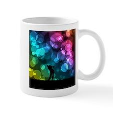 Golfer Driving Bokeh Graphic Mugs