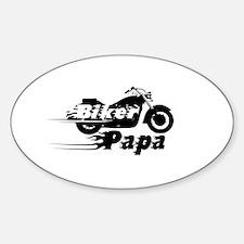 Biker Papa Decal