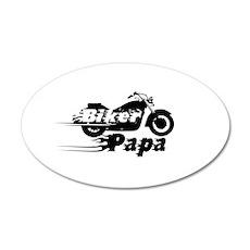 Biker Papa Wall Sticker