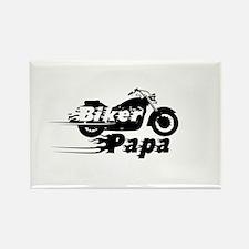 Biker Papa Magnets