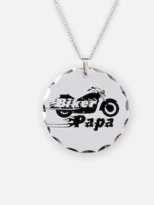 Biker Papa Necklace
