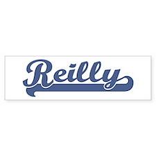 Reilly (sport-blue) Bumper Bumper Sticker